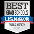 Best Grad Schools - Public Health 2021, U.S. News & World Report logo